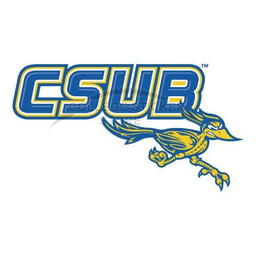 Customs CSU Bakersfield Roadrunners logo Iron-on Transfers N4056