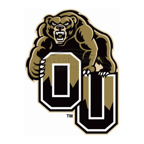 Personal Oakland Golden Grizzlies Iron-on Transfers (Wall Stickers)NO.5732