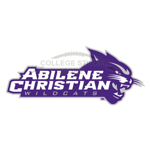 Customs Abilene Christian Wildcats 2013-Pres Alternate Iron-on Transfers (Wall Stickers)NO.3679