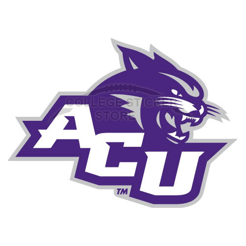 Customs Abilene Christian Wildcats 2013-Pres Primary Iron-on Transfers (Wall Stickers)NO.3681