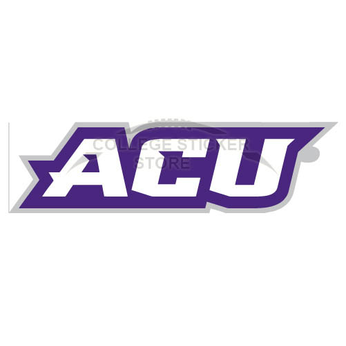 Customs Abilene Christian Wildcats 2013-Pres Wordmark Iron-on Transfers (Wall Stickers)NO.3682