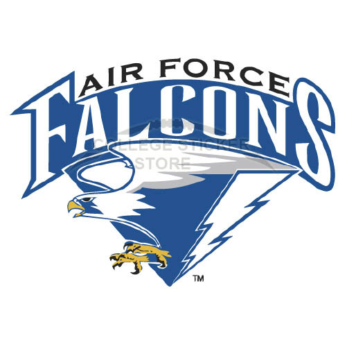 Customs 2004-Pres Air Force Falcons Alternate Iron-on Transfers (Wall Stickers)NO.3696