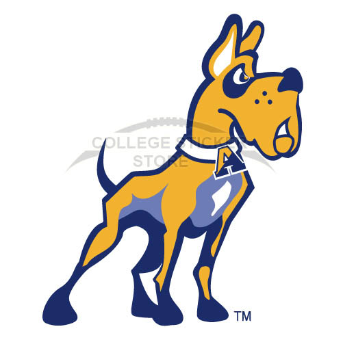 Customs Albany Great Danes 2004-Pres Partial Iron-on Transfers (Wall Stickers)NO.3713