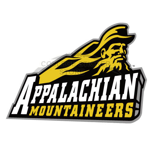 Customs Appalachian St. Mountaineers 2004 Primary Iron-on Transfers (Wall Stickers)NO.3721