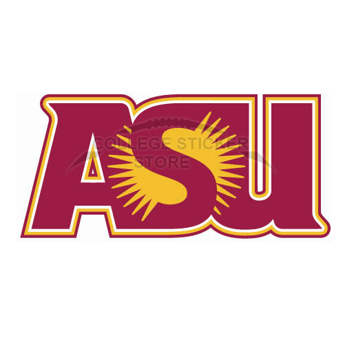 Customs Arizona State Sun Devils 1980 Iron-on Transfers (Wall Stickers)NO.3723