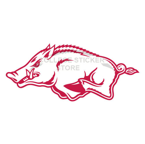 Customs Arkansas Razorbacks 2001 Pres Alternate Iron-on Transfers (Wall Stickers)NO.3743