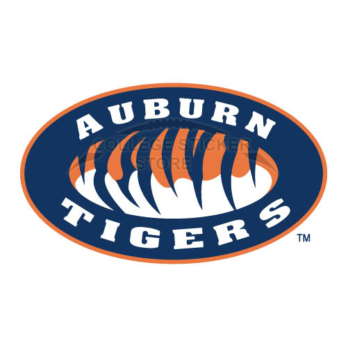 Customs Auburn Tigers 1998 Pres Alternate Iron-on Transfers (Wall Stickers)NO.3763