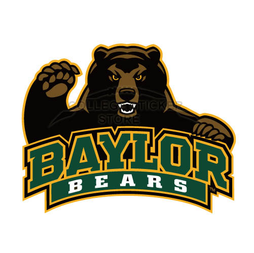 Customs Baylor Bears 2005 Pres Alternate Iron-on Transfers (Wall Stickers)NO.3769