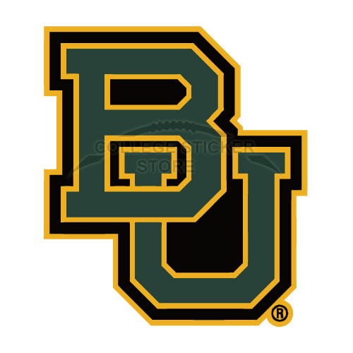 Customs Baylor Bears 2005 Pres Wordmark Iron-on Transfers (Wall Stickers)NO.3771