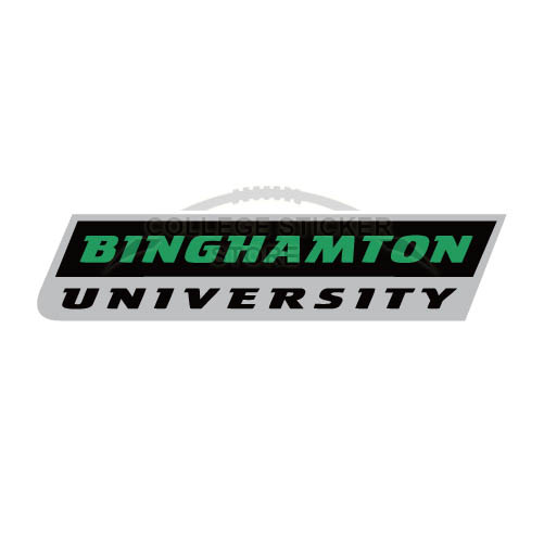 Customs Binghamton Bearcats 2001 Pres Wordmark Iron-on Transfers (Wall Stickers)NO.4006
