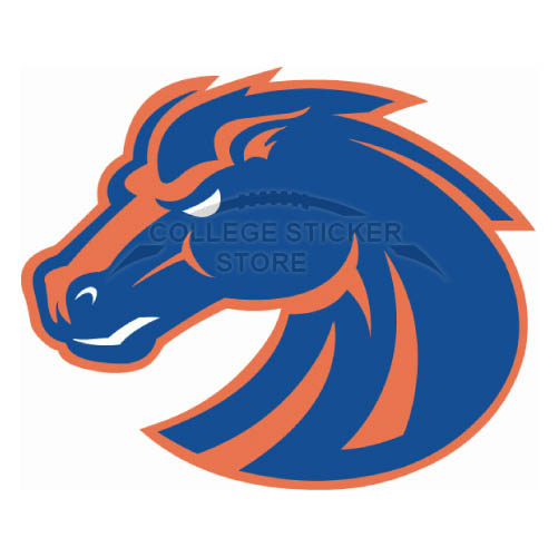 Customs Boise State Broncos Iron-on Transfers (Wall Stickers)NO.4010