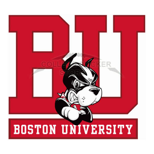 Customs Boston University Terriers Iron-on Transfers (Wall Stickers)NO.4017