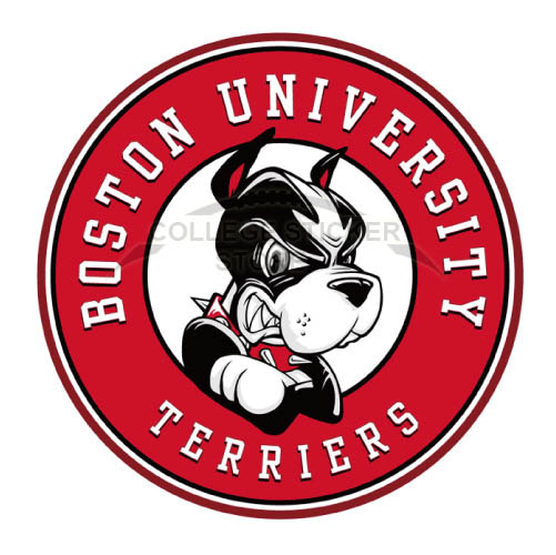 Customs Boston University Terriers Iron-on Transfers (Wall Stickers)NO.4019