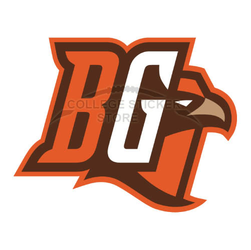 Customs Bowling Green Falcons Iron-on Transfers (Wall Stickers)NO.4021