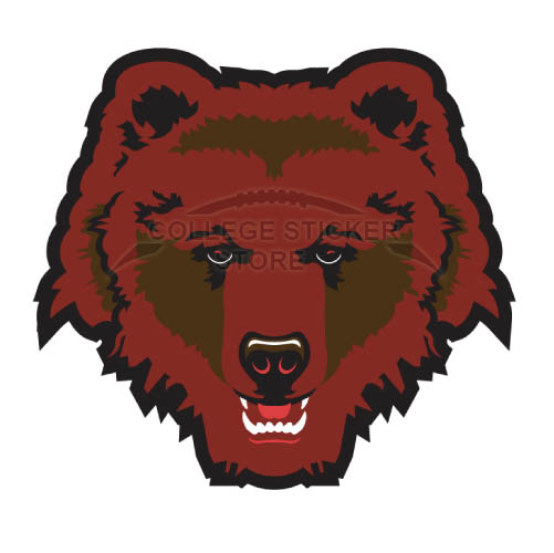Customs Brown Bears Iron-on Transfers (Wall Stickers)NO.4031