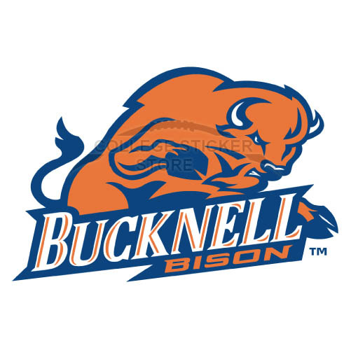 Customs Bucknell Bison Iron-on Transfers (Wall Stickers)NO.4037