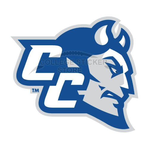 Customs CCSU Blue Devils Iron-on Transfers (Wall Stickers)NO.4098