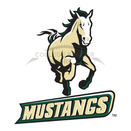 Customs Cal Poly Mustangs Iron On Transfers Wall Stickers
