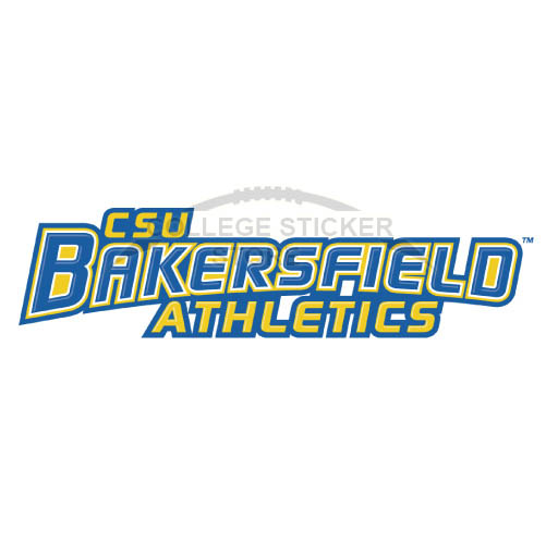 Customs CSU Bakersfield Roadrunners logo Iron-on Transfers N4060