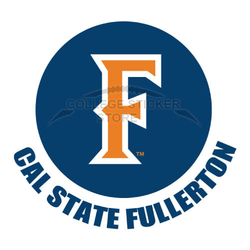 Customs Cal State Fullerton Titans Iron-on Transfers (Wall Stickers)NO.4067