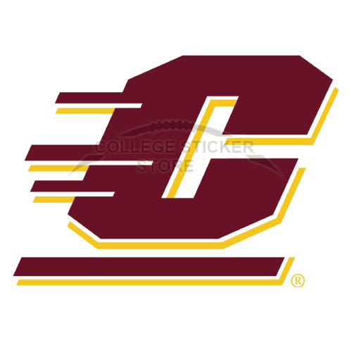 Customs Central Michigan Chippewas Iron-on Transfers (Wall Stickers)NO.4122