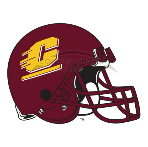 Customs Central Michigan Chippewas Iron-on Transfers (Wall Stickers)NO.4123