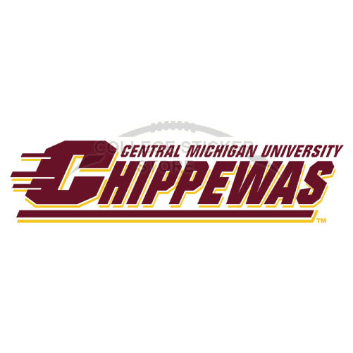 Customs Central Michigan Chippewas Iron-on Transfers (Wall Stickers)NO.4124