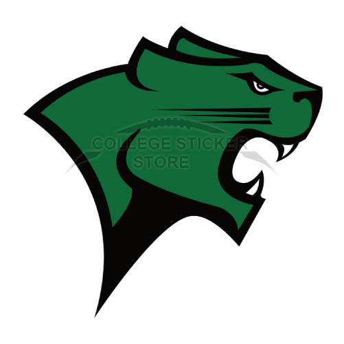 Customs Chicago State Cougars Iron-on Transfers (Wall Stickers)NO.4140
