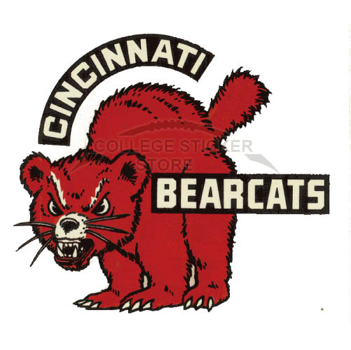 Cincinnati Bearcats Logo Wall Decal Ncaa College Football Vinyl Sticker