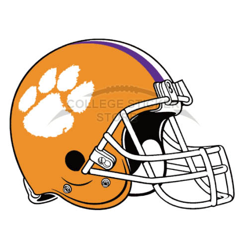 Customs Clemson Tigers Iron-on Transfers (Wall Stickers)NO.4150