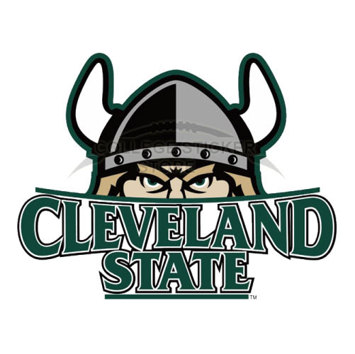 Customs Cleveland State Vikings Iron-on Transfers (Wall Stickers)NO.4153