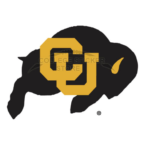 Customs Colorado Buffaloes Iron-on Transfers (Wall Stickers)NO.4164