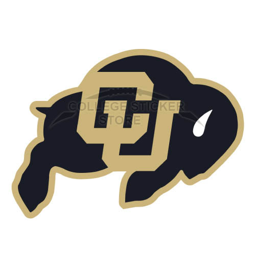 Customs Colorado Buffaloes Iron-on Transfers (Wall Stickers)NO.4167