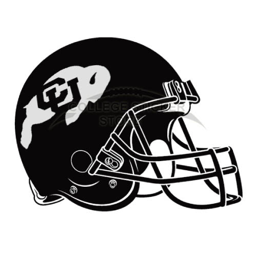 Customs Colorado Buffaloes Iron-on Transfers (Wall Stickers)NO.4169