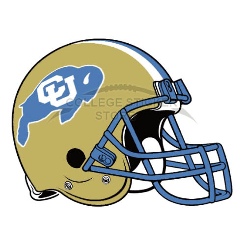 Customs Colorado Buffaloes Iron-on Transfers (Wall Stickers)NO.4170