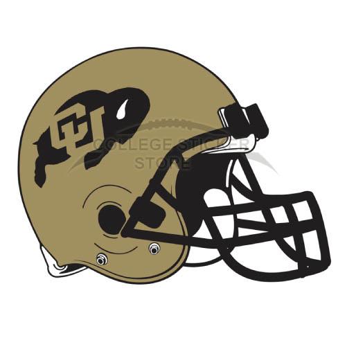 Customs Colorado Buffaloes Iron-on Transfers (Wall Stickers)NO.4171