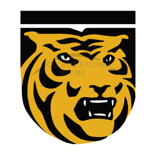 Customs Colorado College Tigers Iron-on Transfers (Wall Stickers)NO.4174