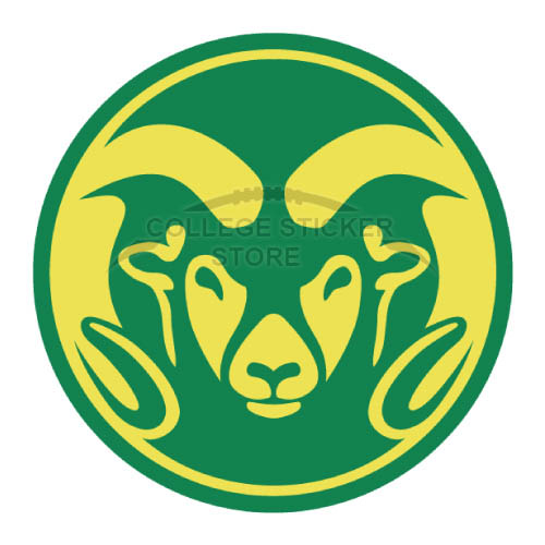 Customs Colorado State Rams Iron-on Transfers (Wall Stickers)NO.4175