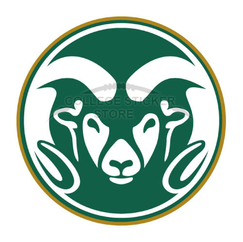 Customs Colorado State Rams Iron-on Transfers (Wall Stickers)NO.4176
