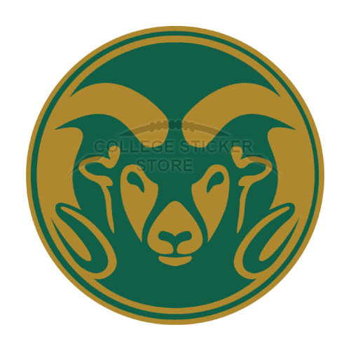 Customs Colorado State Rams Iron-on Transfers (Wall Stickers)NO.4177
