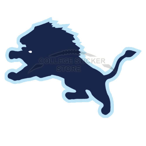 Customs Columbia Lions Iron-on Transfers (Wall Stickers)NO.4185