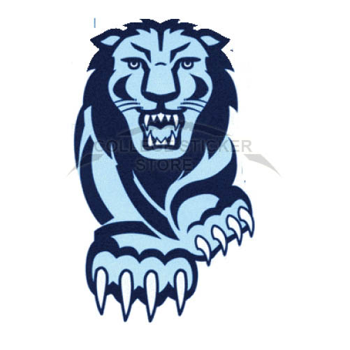 Customs Columbia Lions Iron-on Transfers (Wall Stickers)NO.4186