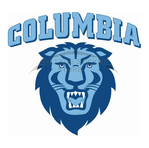 Customs Columbia Lions Iron-on Transfers (Wall Stickers)NO.4187
