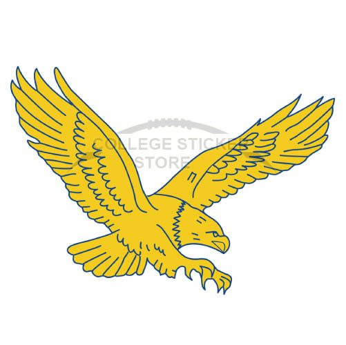 Customs Coppin State Eagles Iron-on Transfers (Wall Stickers)NO.4190