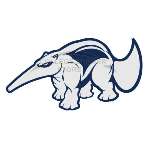 Customs UC Irvine Anteaters Iron-on Transfers (Wall Stickers)NO.4214