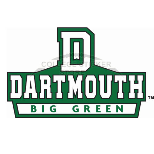 Customs Dartmouth Big Green Iron-on Transfers (Wall Stickers)NO.4216