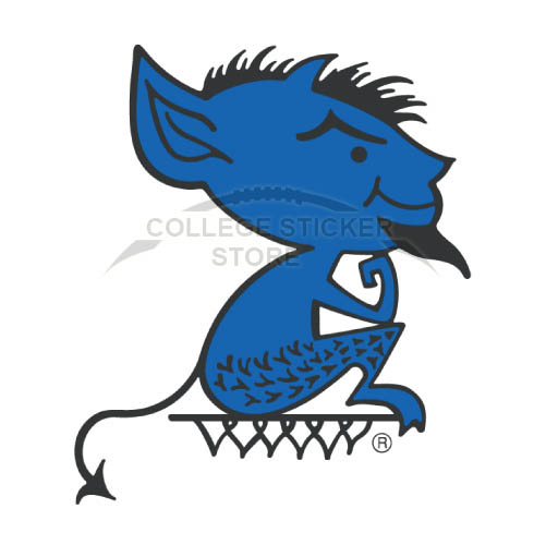 Customs DePaul Blue Demons Iron-on Transfers (Wall Stickers)NO.4261