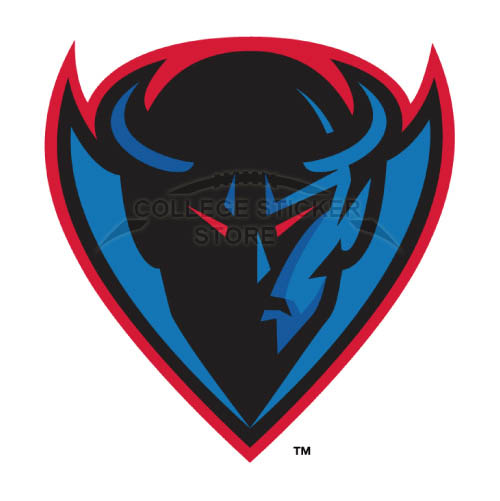 Design DePaul Blue Demons Iron-on Transfers (Wall Stickers)NO.4264