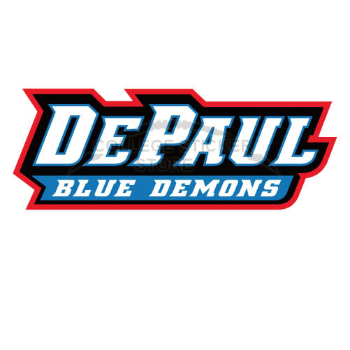 Design DePaul Blue Demons Iron-on Transfers (Wall Stickers)NO.4266