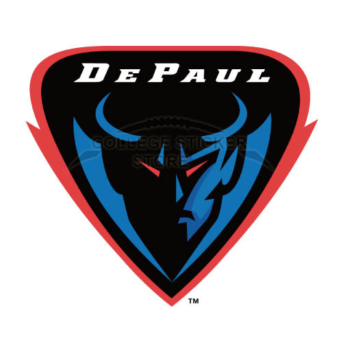 Design DePaul Blue Demons Iron-on Transfers (Wall Stickers)NO.4271
